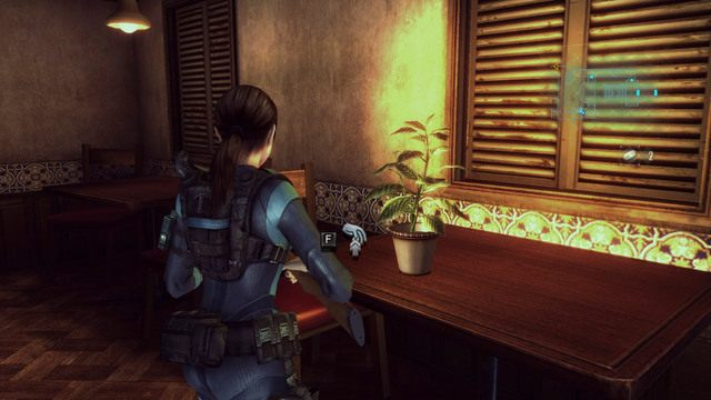 Zaprowadzi cię on do miejsca z dwoma mutantami - Duchy Veltro - część II - Epizod 3 - Resident Evil: Revelations - poradnik do gry