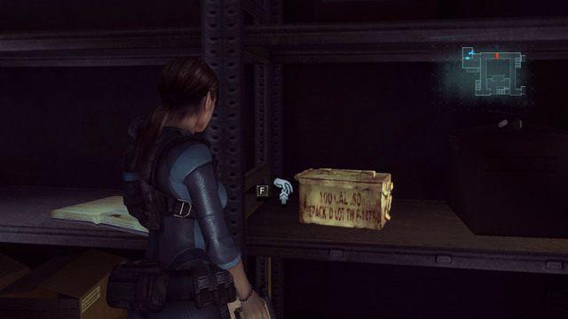 Pozbieraj także leżące w okolicy zioła i amunicję - Duchy Veltro - część II - Epizod 3 - Resident Evil: Revelations - poradnik do gry