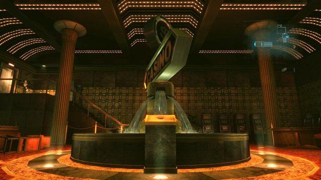 Możesz teraz wrócić do fontanny i wcisnąć znajdujący się obok przycisk - Koszmar powraca - Epizod 4 - Resident Evil: Revelations - poradnik do gry