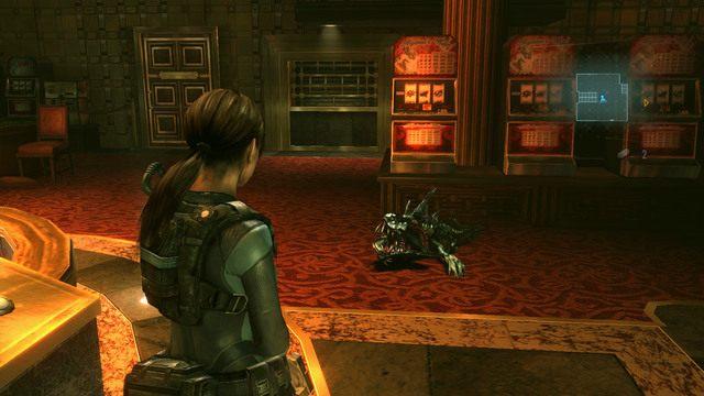 Przy zwłokach ostatniego stwora znajdziesz żeton - Koszmar powraca - Epizod 4 - Resident Evil: Revelations - poradnik do gry