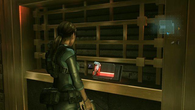 Możesz teraz znowu udać się do miejsca z dźwignię, przeszukując wcześniej całe pomieszczenie w poszukiwaniu przydatnych przedmiotów - Koszmar powraca - Epizod 4 - Resident Evil: Revelations - poradnik do gry