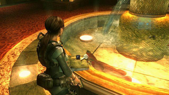 Informacja na ten temat znajduje się w porzuconym obok fontanny raporcie pracownika kasyna - Koszmar powraca - Epizod 4 - Resident Evil: Revelations - poradnik do gry