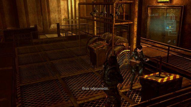 Trafisz w ten sposób do pomieszczenia z windą - Koszmar powraca - Epizod 4 - Resident Evil: Revelations - poradnik do gry