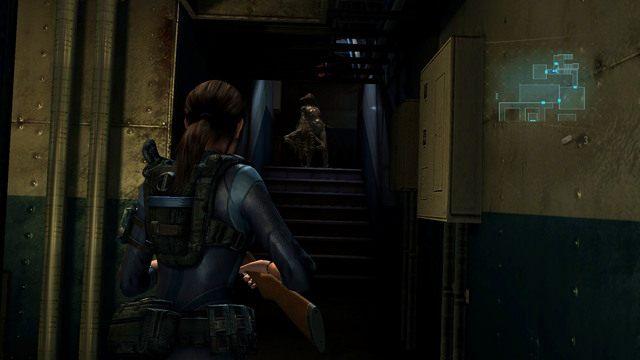 Jak usłyszysz kobiecy głos i zobaczysz zwykłego mutanta, przygotuj się na atak bossa - Koszmar powraca - Epizod 4 - Resident Evil: Revelations - poradnik do gry