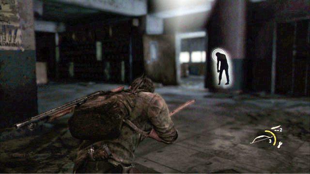 Po jego �mierci chwy� le��c� niedaleko ceg�� - Ucieczka z budynku szko�y - Miasteczko Billa - The Last of Us - poradnik do gry