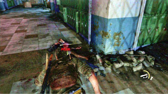 Wok� niego chodzi biegach, kt�rego musisz zabi� - Ucieczka z budynku szko�y - Miasteczko Billa - The Last of Us - poradnik do gry