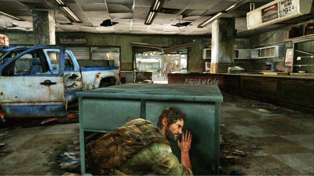 Jak ci si� uda, rozpocznie si� d�u�sze starcie z grupk� przeciwnik�w - Samotna i porzucona - Pittsburgh - The Last of Us - poradnik do gry