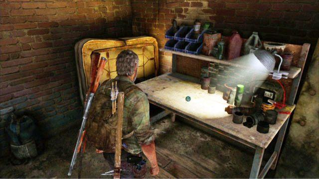 Za kolejnymi drzwiami znajduj� si� schody prowadz�ce poziom wy�ej - Samotna i porzucona - Pittsburgh - The Last of Us - poradnik do gry