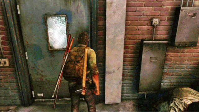 Gdy sko�czysz, wyjd� na zewn�trz przez drzwi z lewej - Samotna i porzucona - Pittsburgh - The Last of Us - poradnik do gry