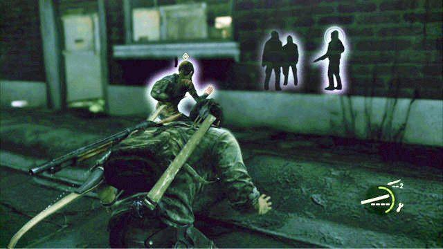 Powiniene� tam us�ysze� m�czyzn rozmawiaj�cych wewn�trz budynku - Samotna i porzucona - Pittsburgh - The Last of Us - poradnik do gry