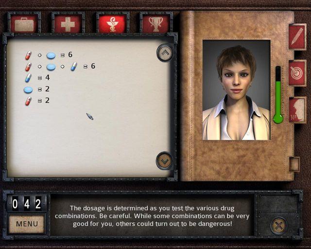 Porównanie mocy działania leków - Dracula 4: The Shadow of the Dragon - poradnik do gry