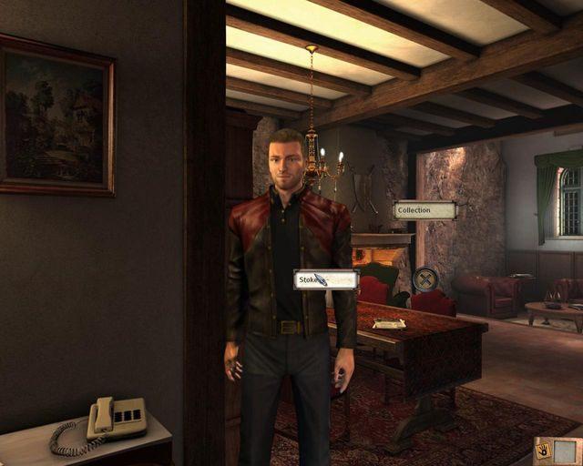 Adam Stoker - Tajemnice profesora - Rozdział 1 - Posiadłość - Dracula 4: The Shadow of the Dragon - poradnik do gry