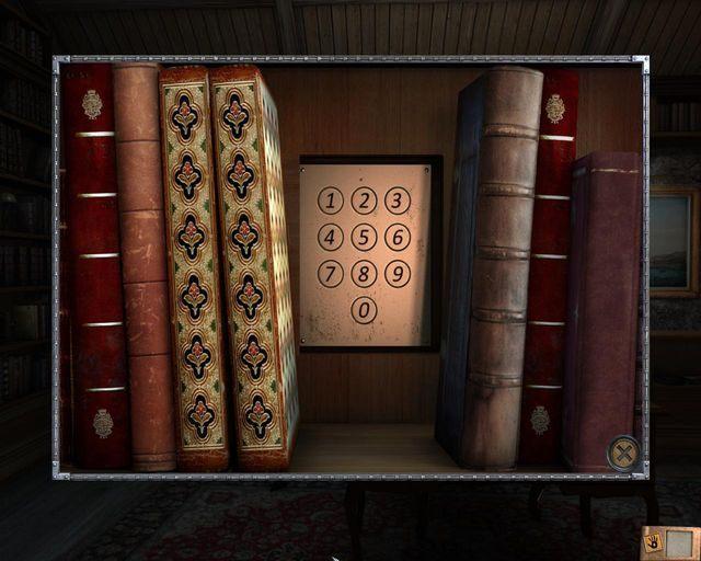 Zamek kodowy za księgami - Tajemnice profesora - Rozdział 1 - Posiadłość - Dracula 4: The Shadow of the Dragon - poradnik do gry
