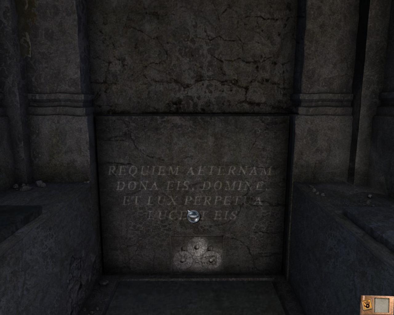 Mauzoleum - Tajemnice cmentarza - Rozdział 1 - Posiadłość - Dracula 4: The Shadow of the Dragon - poradnik do gry