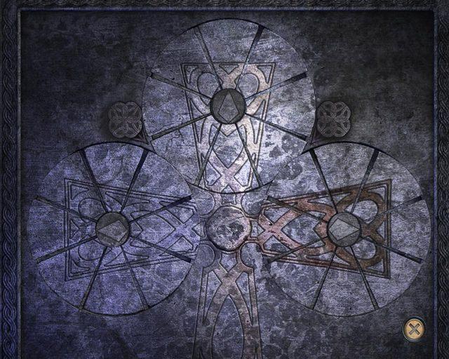 Mozaika - Tajemnice cmentarza - Rozdział 1 - Posiadłość - Dracula 4: The Shadow of the Dragon - poradnik do gry