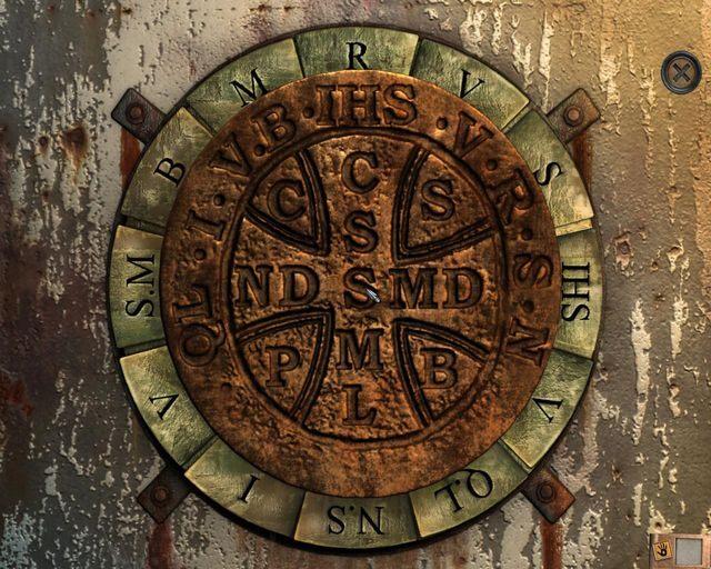 Wykorzystanie medalika na wrotach - Tajemnice cmentarza - Rozdział 1 - Posiadłość - Dracula 4: The Shadow of the Dragon - poradnik do gry