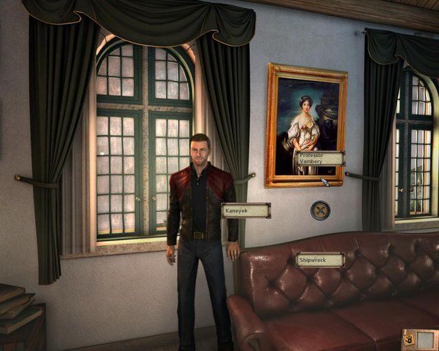 Ważna rozmowa - Tajemnice cmentarza - Rozdział 1 - Posiadłość - Dracula 4: The Shadow of the Dragon - poradnik do gry