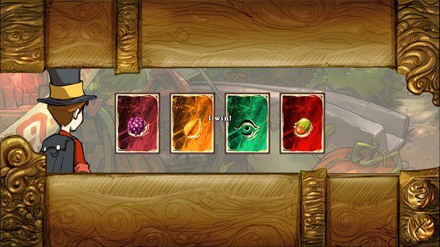 Gra dobiega końca w dwóch przypadkach: gdy jeden z graczy skompletuje pięć czwórek (czyli więcej niż połowę) bądź gdy jeden z graczy nie będzie już posiadał żadnych kart (i nie ma znaczenia ile kart ma przeciwnik bądź ile jest jeszcze kart w puli) - Gra w karty Kwartet - Elementy gry - The Night of the Rabbit - poradnik do gry