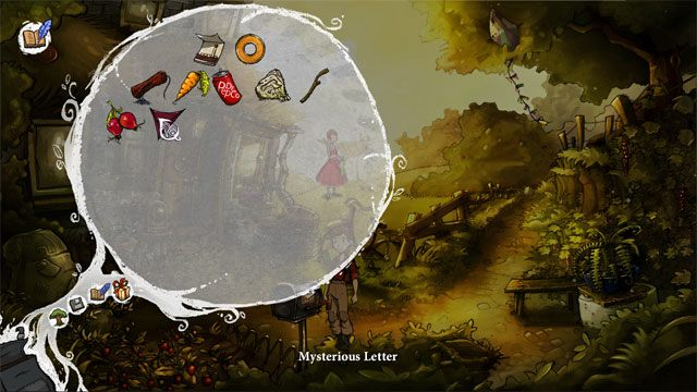 Otwórz tajemniczy list klikając na nim LPM w ekwipunku - Zwykły letni dzień - Solucja - The Night of the Rabbit - poradnik do gry