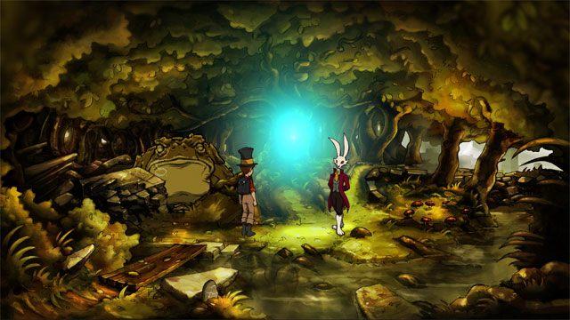Następnie Markiz otworzy portal i przeniesiecie się do innego świata - Zwykły letni dzień - Solucja - The Night of the Rabbit - poradnik do gry
