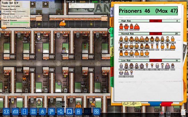 Podłączyć jedzenie do więzienia