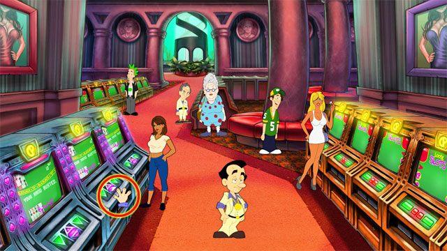 Dodatkowe �rodki zdobywasz uprawiaj�c - Pieni�dze i hazard - Elementy gry - Leisure Suit Larry: Reloaded - poradnik do gry