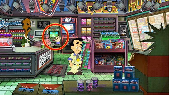 Pieni�dzy mo�esz potrzebowa� w ka�dej sytuacji - przecie� nie maj�c ok - Pieni�dze i hazard - Elementy gry - Leisure Suit Larry: Reloaded - poradnik do gry