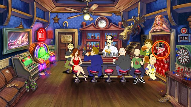 Wejd� do baru - 1. Panienka - Solucja - Leisure Suit Larry: Reloaded - poradnik do gry