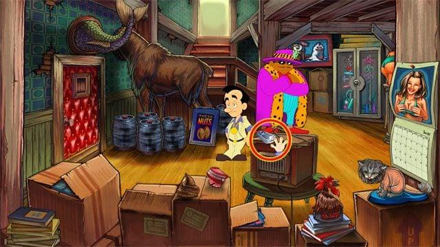 Znajdziesz si� w �rodku - 1. Panienka - Solucja - Leisure Suit Larry: Reloaded - poradnik do gry