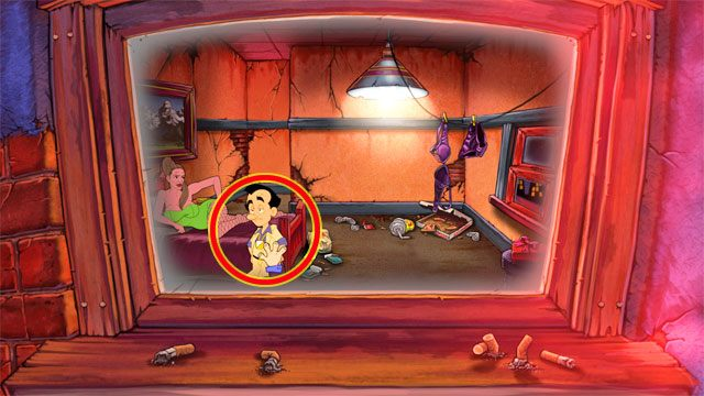 Podejd� do ��ka - 1. Panienka - Solucja - Leisure Suit Larry: Reloaded - poradnik do gry