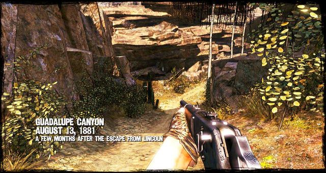 Gdy tylko rozpocznie się misja, ruszaj przed siebie - 3 - A Bullet for the Old Man - Solucja - Call of Juarez: Gunslinger - poradnik do gry