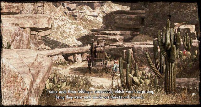 Okradany Dyliżans - 3 - A Bullet for the Old Man - Solucja - Call of Juarez: Gunslinger - poradnik do gry