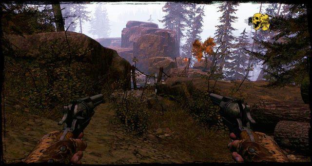 Pierwszy most po rozpoczęciu Rozdziału - 4 - Gunfight at the Sawmill - Solucja - Call of Juarez: Gunslinger - poradnik do gry