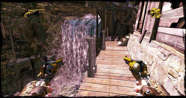 Bieg po niedopasowanych deskach - 4 - Gunfight at the Sawmill - Solucja - Call of Juarez: Gunslinger - poradnik do gry