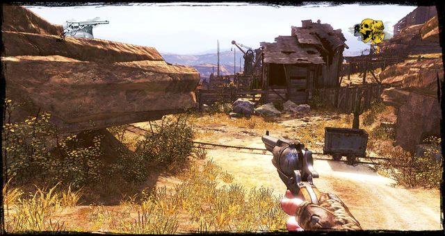 Wózek obok drogi - 5 - The Magnificent One - Solucja - Call of Juarez: Gunslinger - poradnik do gry