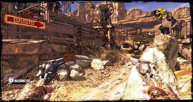 Droga do magazynów z ładunkami wybuchowymi - 5 - The Magnificent One - Solucja - Call of Juarez: Gunslinger - poradnik do gry