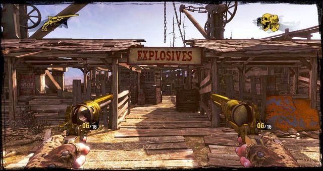 Wejście do magazynów - 5 - The Magnificent One - Solucja - Call of Juarez: Gunslinger - poradnik do gry