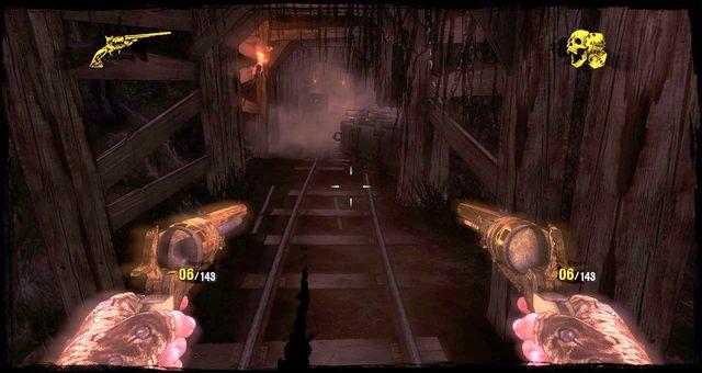 Zawalający się tunel. Biegnij! - 5 - The Magnificent One - Solucja - Call of Juarez: Gunslinger - poradnik do gry