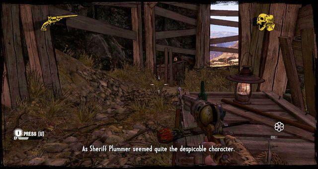 Tunel, który prowadzi na druga stronę góry - 5 - The Magnificent One - Solucja - Call of Juarez: Gunslinger - poradnik do gry