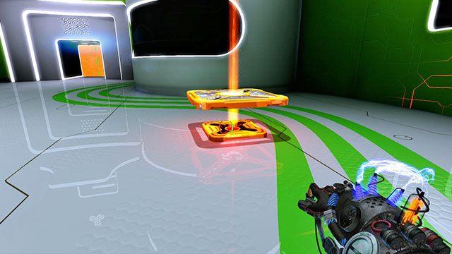 Pamiętaj, że możesz zamieniać kolory - Intermediate Platform - Akt I - Magrunner: Dark Pulse - poradnik do gry