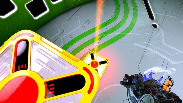 Moduł napędzający ściągnie ją na dół - Intermediate Platform - Akt I - Magrunner: Dark Pulse - poradnik do gry