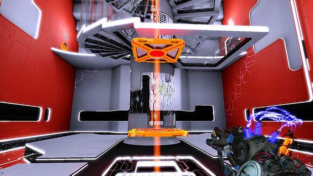 Wskocz zanim platformy opadną - Advanced Platform - Akt I - Magrunner: Dark Pulse - poradnik do gry