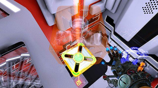 Jeśli spadniesz, zwyczajnie ściągnij platformy na dół - Advanced Platform - Akt I - Magrunner: Dark Pulse - poradnik do gry