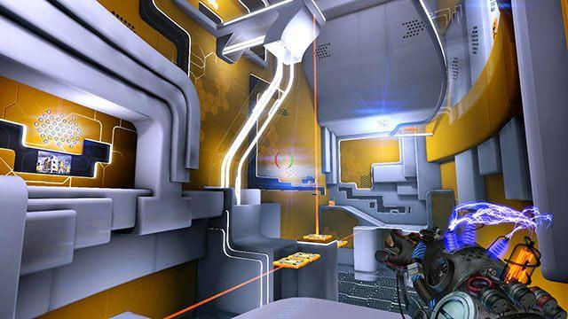 Twój cel jest na górze - Platform Test - Akt I - Magrunner: Dark Pulse - poradnik do gry