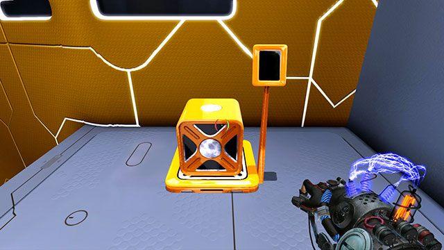 Gdybyś stracił kostkę, tutaj ją odzyskasz - Platform Test - Akt I - Magrunner: Dark Pulse - poradnik do gry