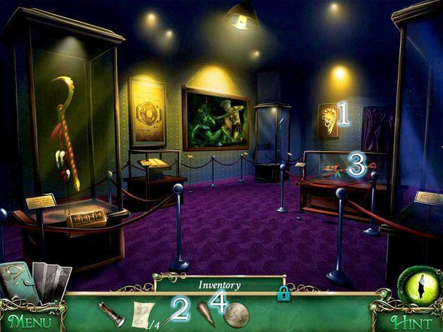Podchodzimy do złotej maski węża [1] - Muzeum - Solucja - 9 Poszlak: Tajemnica Serpent Creek - poradnik do gry