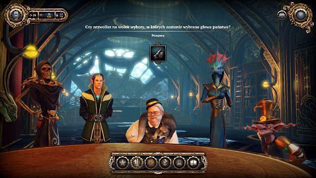 Doradcy będą regularnie wysuwać propozycję zmian w państwie - Doradcy - Faza Kruka - Divinity: Dragon Commander - poradnik do gry