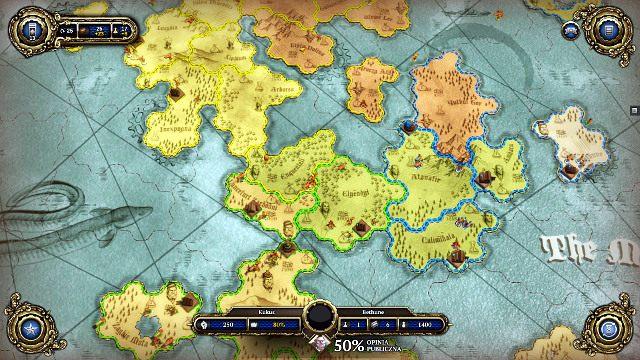 Działania na mapie strategicznej to najważniejsza część gry - Zapoznanie i porady ogólne - Faza Ryzyka - Divinity: Dragon Commander - poradnik do gry