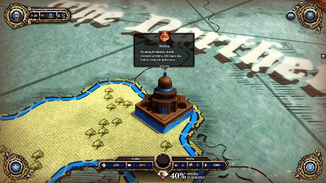 Zdobycie stolicy wroga jest głównym celem gry - Zapoznanie i porady ogólne - Faza Ryzyka - Divinity: Dragon Commander - poradnik do gry