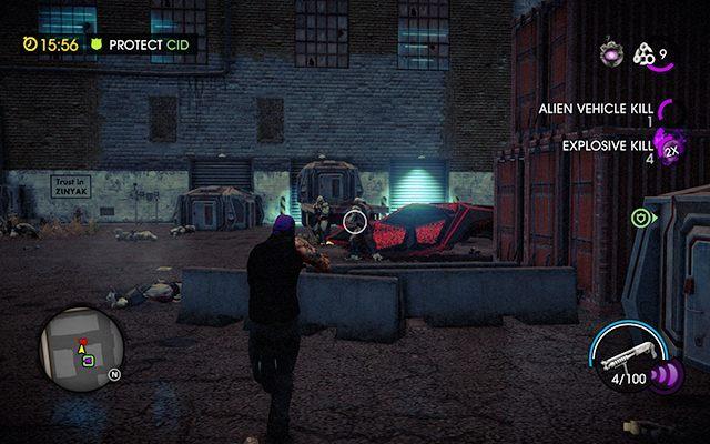 Obrona CID-a - #7 - Ghost In The Machine - Opis przejścia - Saints Row IV - poradnik do gry